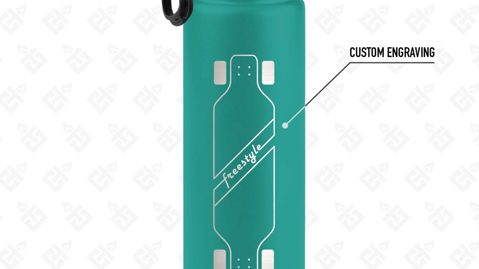 Custom Engraved 22Oz Sports Bottle- Multiple Colors Available