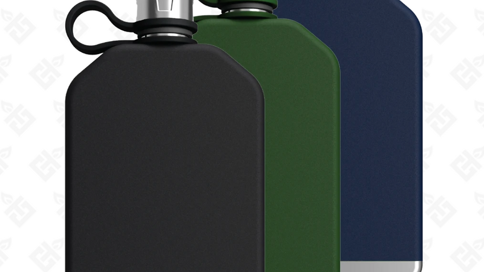 8-Oz Flask- Multiple Colors