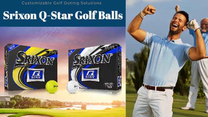 Buy Two Get One Free- Srixon Q-Star Golf Balls