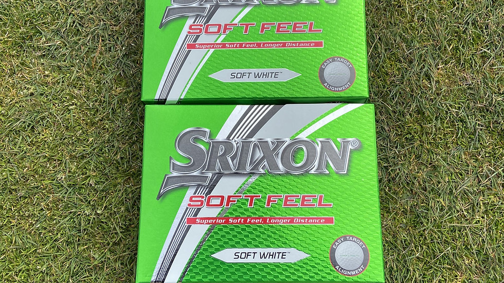 Srixon Soft-Feel Golf Balls (2-Dozen)
