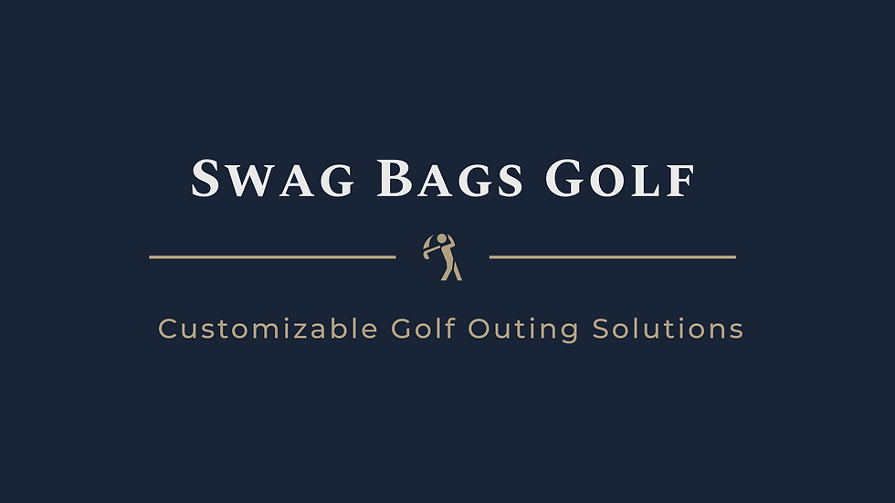 Swag Bags Golf Tournament Entry Package #1