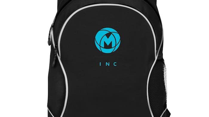 Screen-Printed Backpack
