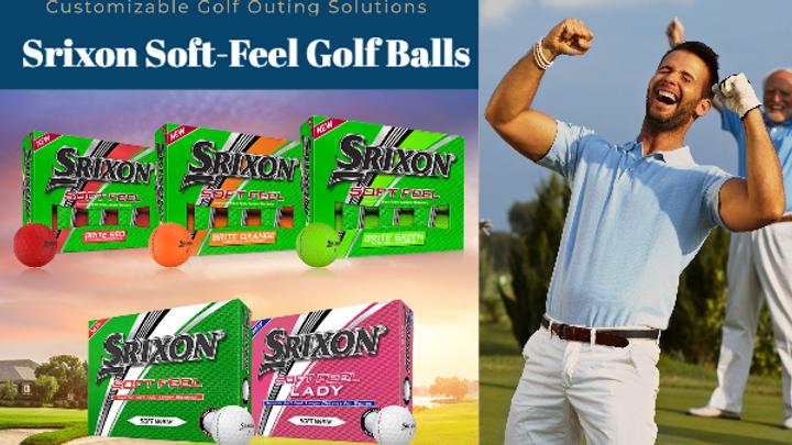 Buy Three Get One Free- Srixon Soft Feel Golf Balls