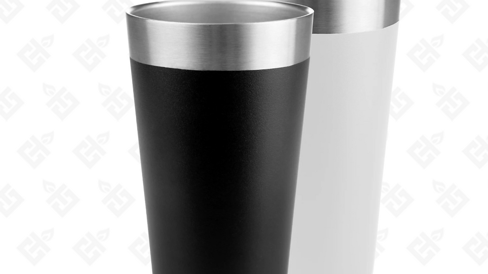 16Oz Insulated Stainless Pint Glass