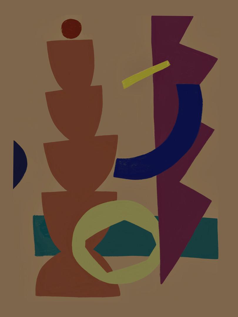 Многоцветная абстракция