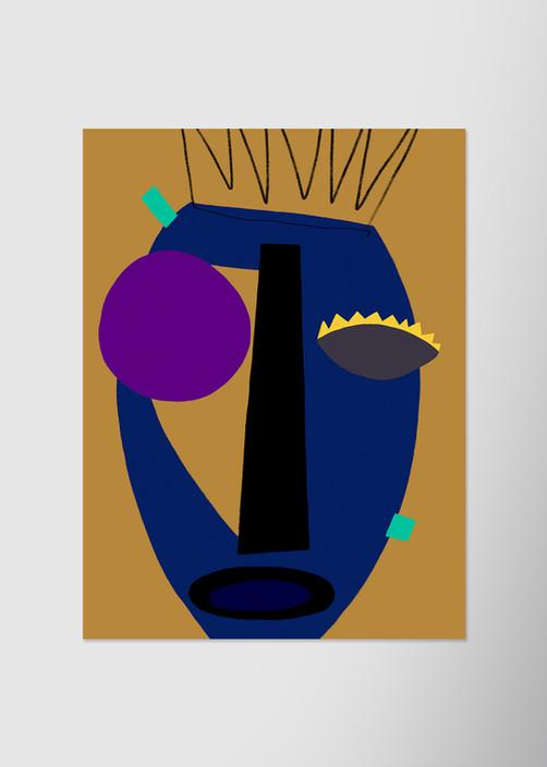 Синяя маска
