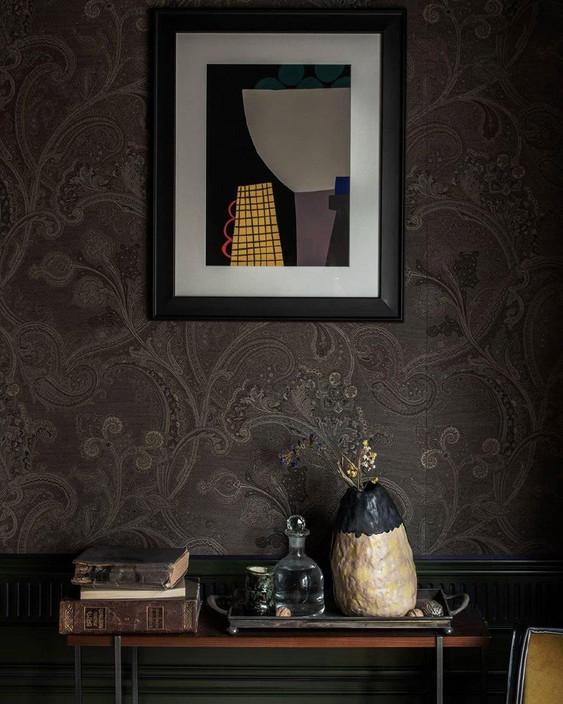 Натюрморт с желтой вазой-интерьер-Александрина Лукич