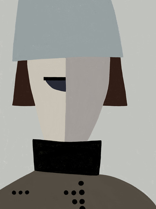 Портрет в головном уборе