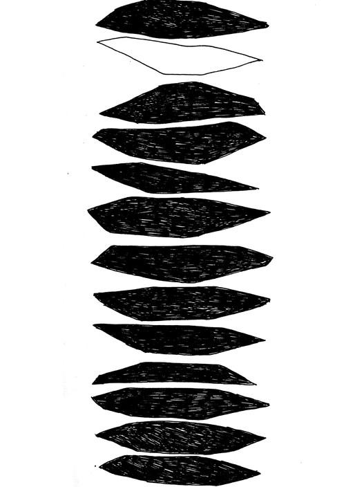 12 черных пятен