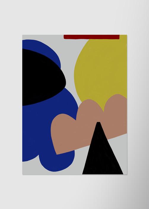 Контрастная композиция с треугольником