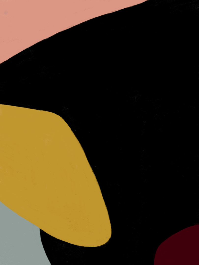 Абстракция с черной доминантой
