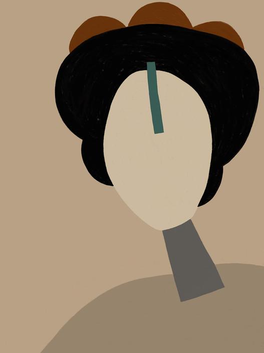 Нюдовый портрет