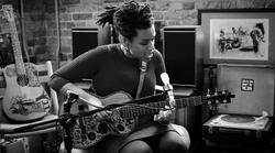 Carmen Souza / Recording for TV