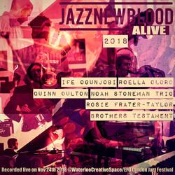 #jazznewbloodALIVE2018 COVER
