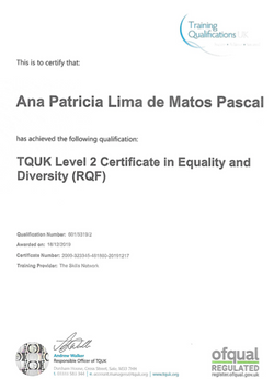 Certificate in Equality & Diversity