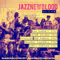 #jazznewbloodALIVE2018 CD