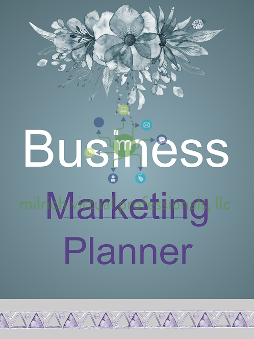 Business Marketing Planner