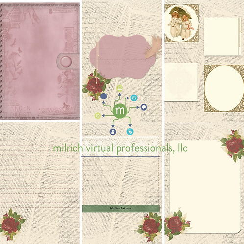 Cream Rose Vintage Gift