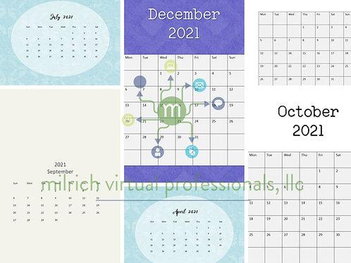 Mix & Match 2021 Calendar Kit