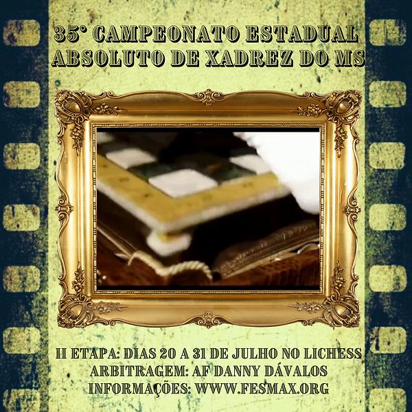 CAMPEONATO ESTADUAL ABSOLUTO DE XADREZ 2