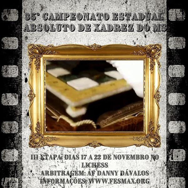 Cópia de CAMPEONATO ESTADUAL ABSOLUTO DE