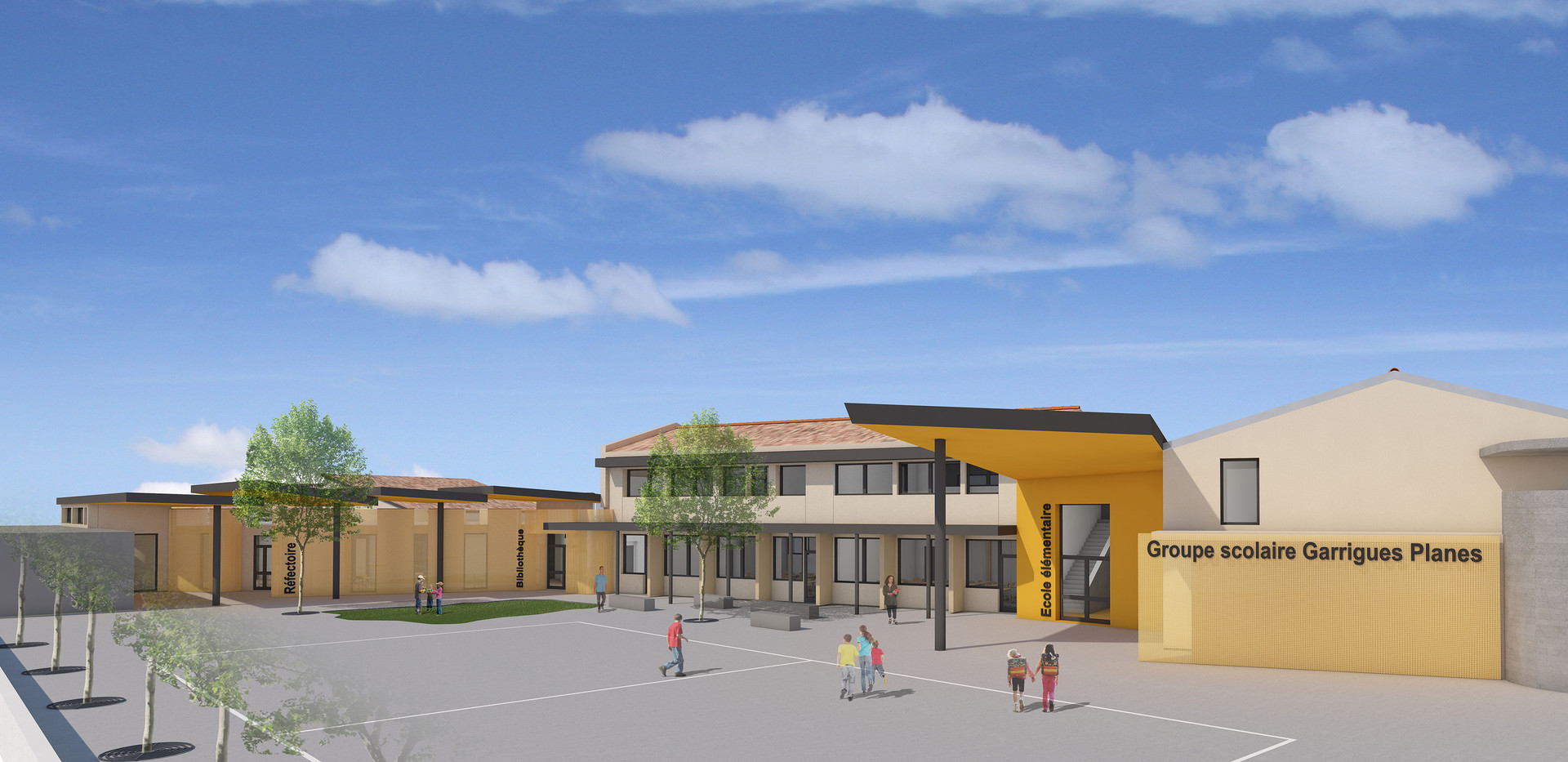 Groupe scolaire Garrigues Planesr