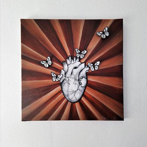 A coeur battant... Les papillons