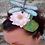 Thumbnail: Bijou de tête fleur de nénuphar et libellule