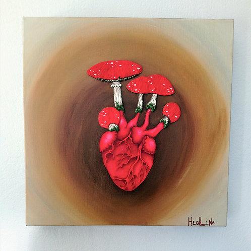 A coeur battant... Les champigons