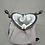 Thumbnail: Porte monnaie art nouveau violet