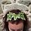 Thumbnail: Bijou de tête lierre brodé