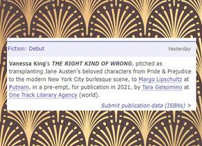 Deal News: P&P Goes Burlesque!