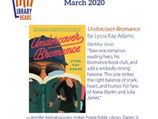 Library Reads Goes Undercover