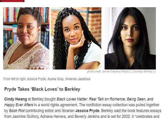 Deal Announcement: Black Loves Matter