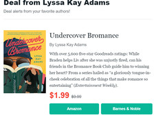 Undercover's on Sale!