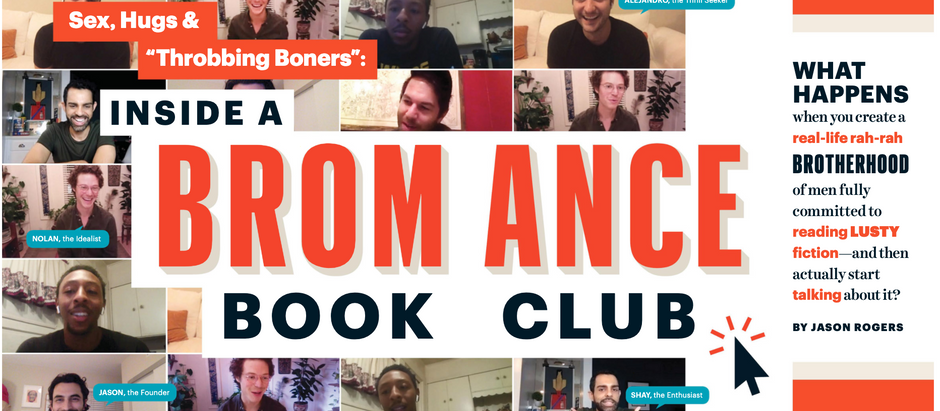 A real Bromance book club?