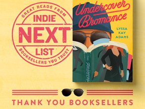 Undercover is an Indie Next Pick