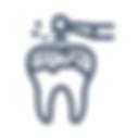 Traitement de carie, cabinet de dentiste Cap-Rouge.