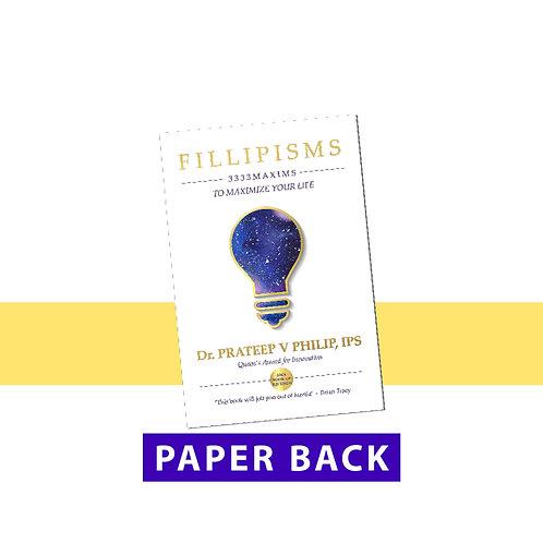 Fillipisms - Paper Back Book