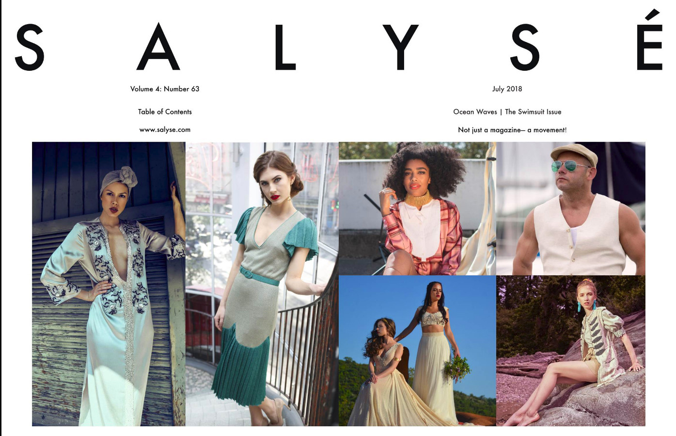 Volume 4: SALYSÉ Magazine | Vol 4 : No 63 | July 2018