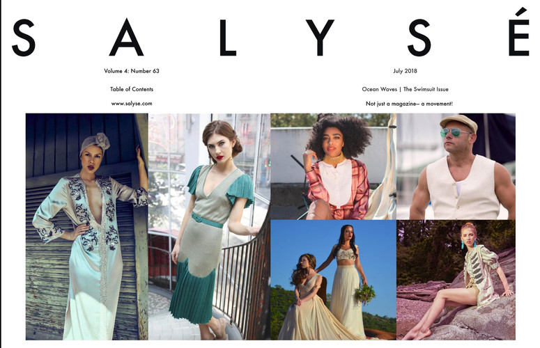 Volume 4: SALYSÉ Magazine | Vol 4 : No 63 | July 2018