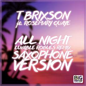 T Brixson Toni Toolz All Night