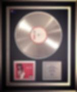 Platinum Disc Kelis Trick Me Toni Toolz