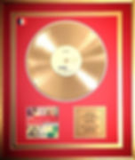 Gold Disc Moby Mylene Farmer Toni Toolz