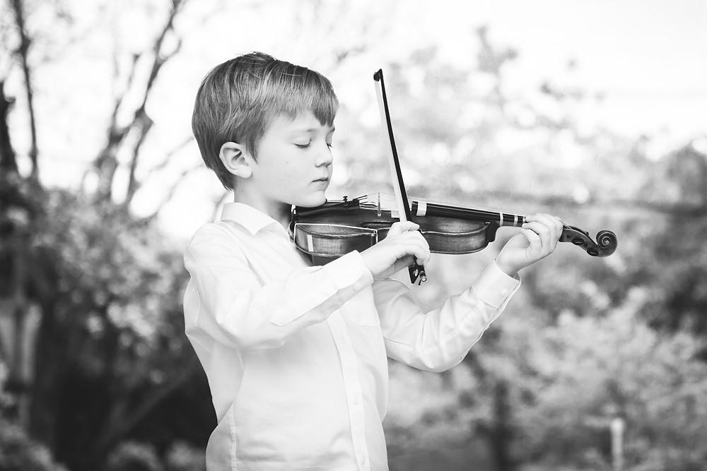 Milo | Songbird Rising violin student, Austin