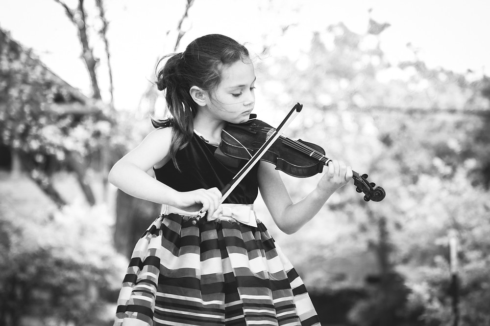 Shiloh | Songbird Rising violin student, Austin