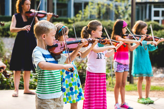 Songbird Rising Suzuki School Violin Stu