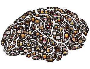 La nourriture au centre de mes pensées