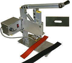 hot hole punch, thermal press, slot punch, slot cutter