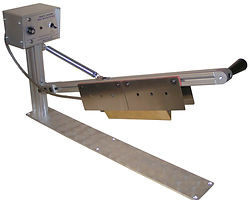 ribbon cutter, hook and loop cutter, webcutter